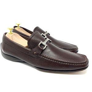 Salvatore Ferragamo Grandioso Brown Luxury Loafer